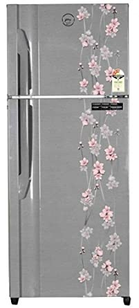 Godrej 331 L 3 Star Frost Free Double Door Refrigerator(RTEON 331 P 3.4, Silver Meadow)