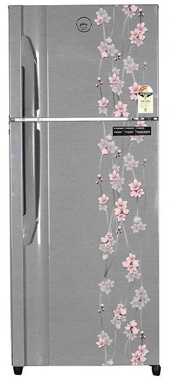 Godrej 311 L 3 Star   2019   Frost Free Double Door Refrigerator RT EON 311, Silver Meadow  Refrigerators
