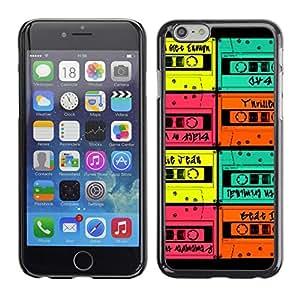 SKCASE Center / Funda Carcasa - Colorida Casa de la Moneda de Música de la vendimia;;;;;;;; - Apple Iphone 6 Plus 5.5