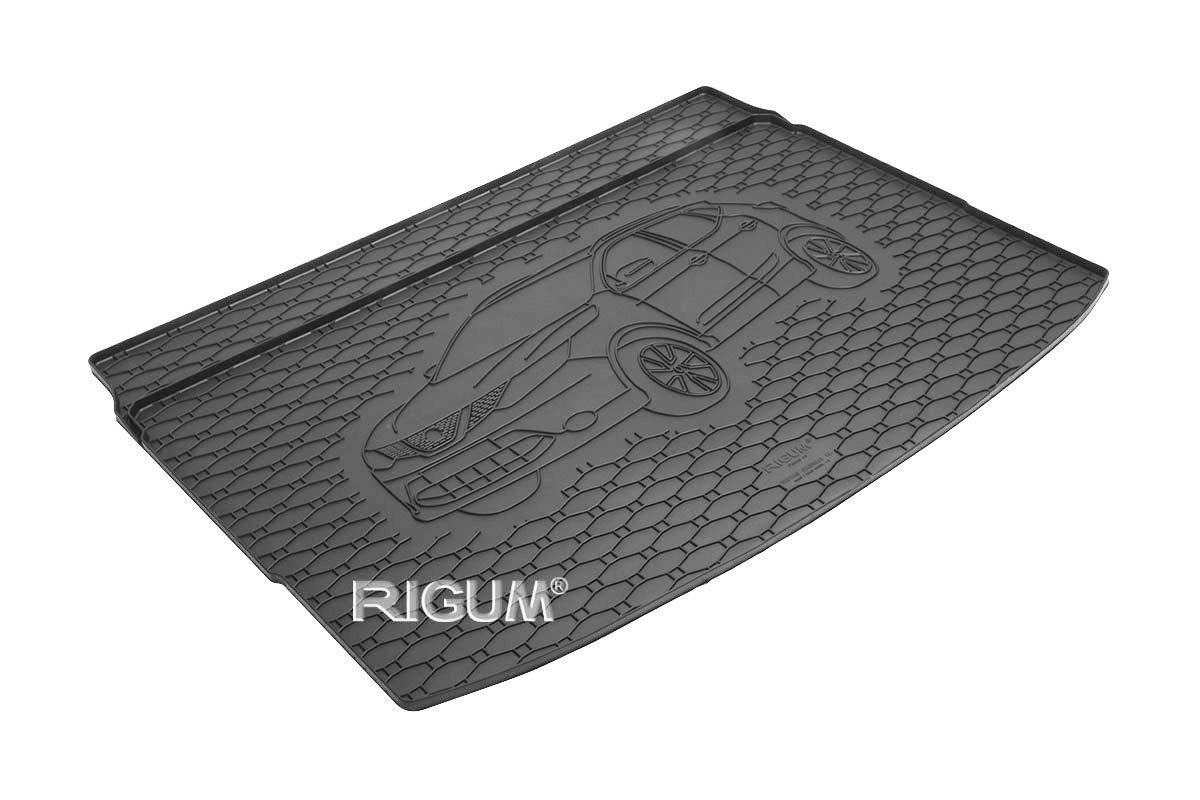 RIGUM Passgenaue Kofferraumwanne geeignet f/ür Nissan Qashqai ab 2014 passen ideal