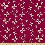 Monaluna Organic Poplin Bloom Flutter Fabric By The Yard