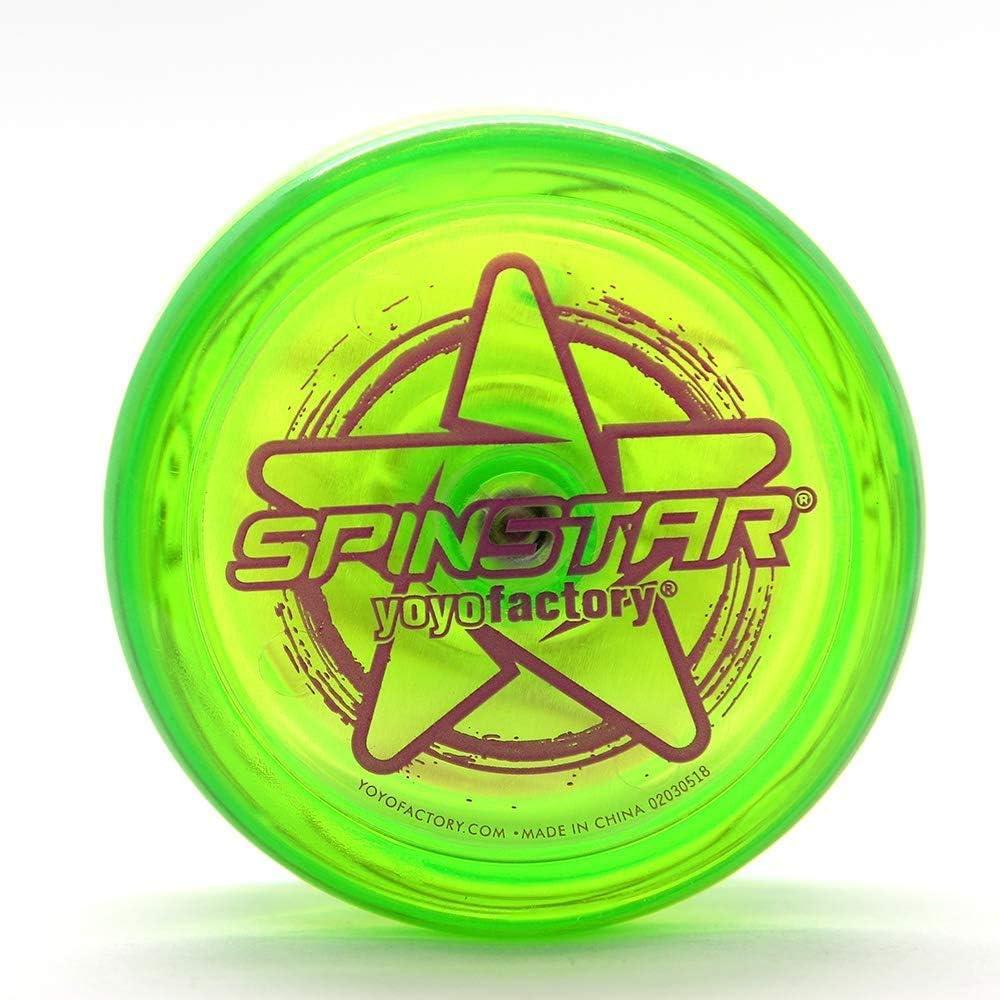 Ludokubo Yoyo Spinstar YOYO Factory Verde