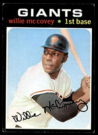 1970 Topps #250 Willie McCovey San Francisco Giants Baseball Card