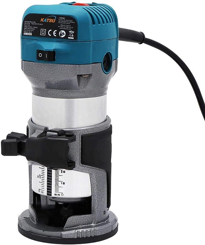 Fresadora de Madera Rebajadora Eléctrica 220V 710W