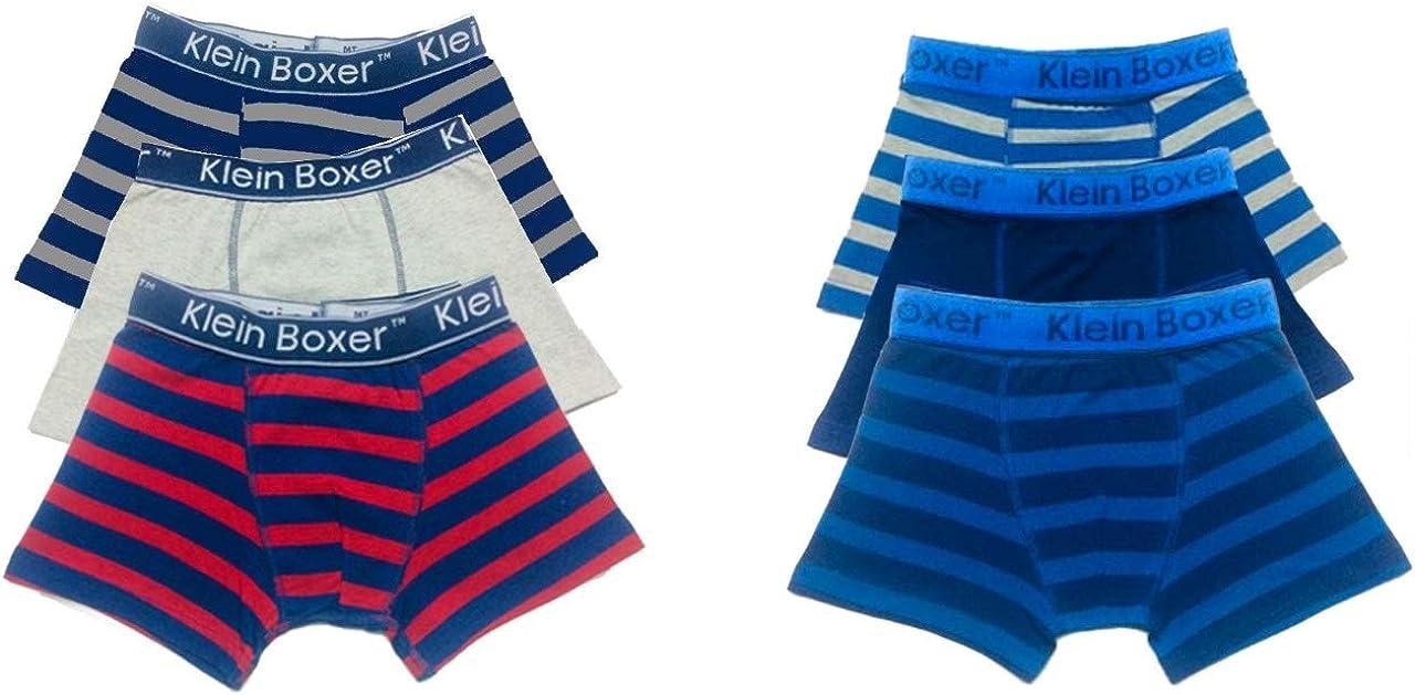 6//12 Pairs Boys Boxer Shorts Cotton Rich Designer Trunk Boxers Underwear 5-13 Years