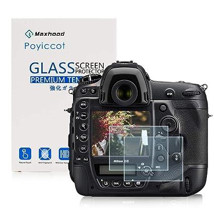Nikon D5 Vidrio Templado Protector de Pantalla, exuun óptico 9H ...