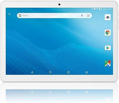 Tableta de 10 Pulgadas Android 8.1, Google Certificado, WiFi Tablet PC con Ranuras para Tarjetas SIM y Ranuras para Tarjetas Micro SD, Bluetooth, GPS, FM, Netflix, Youtube: Amazon.es: Informática