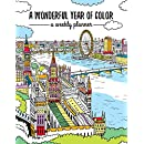 A Wonderful Year of Color: Weekly Planner