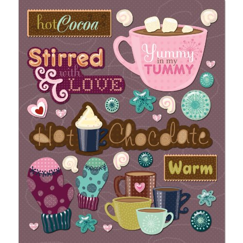 K&Company Hot Chocolate Sticker Medley