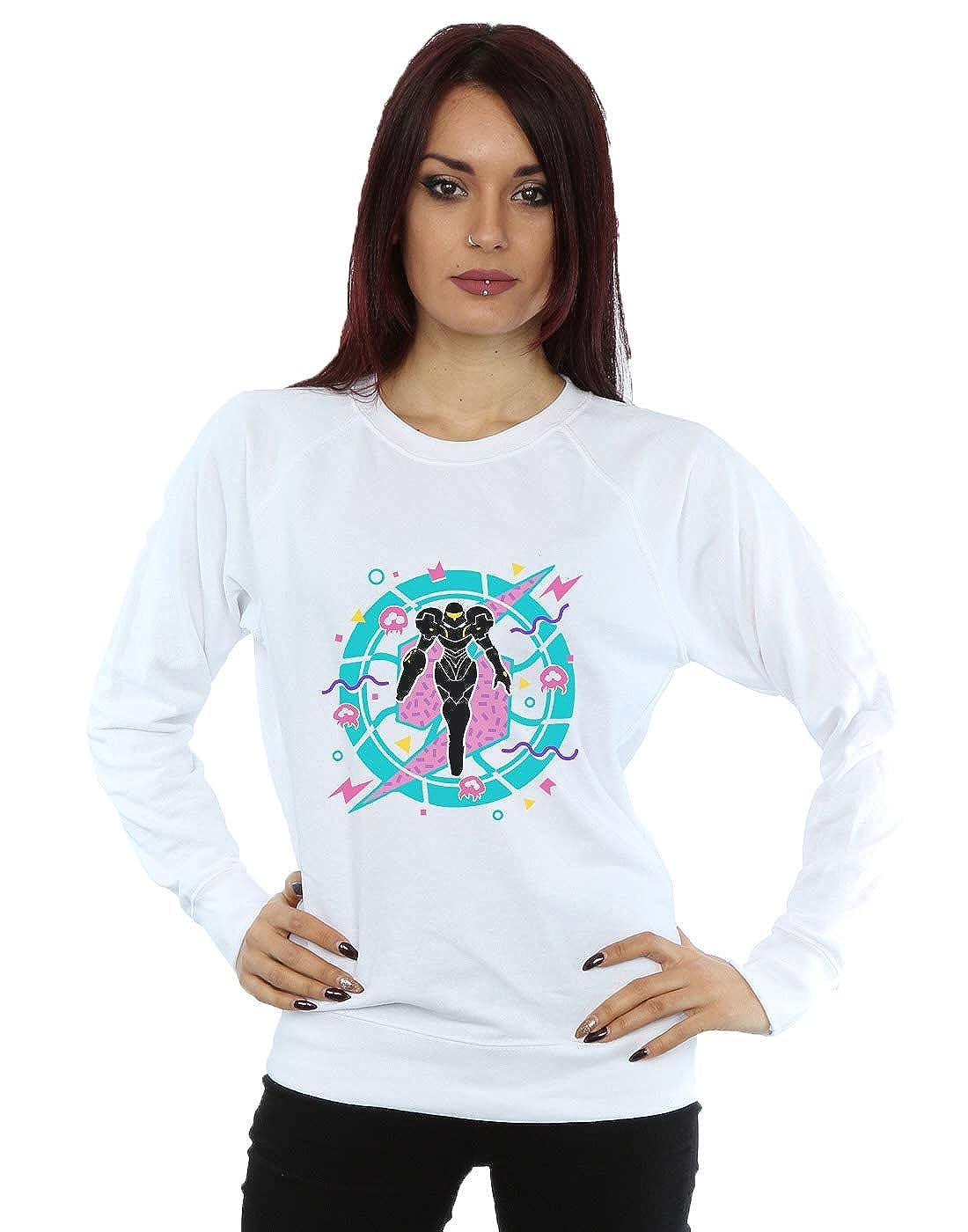 Vincent Trinidad Womens 90s Samus Sweatshirt