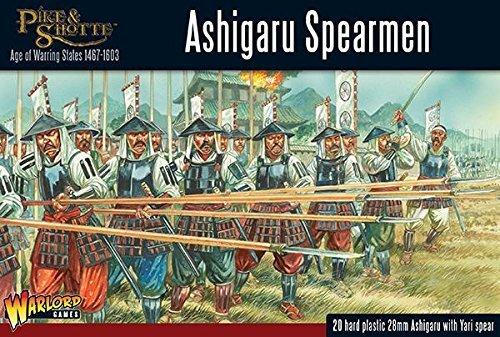 Warlord Games, Pike & Shotte - Ashigaru Spearmen from Pike & ShotteÊ