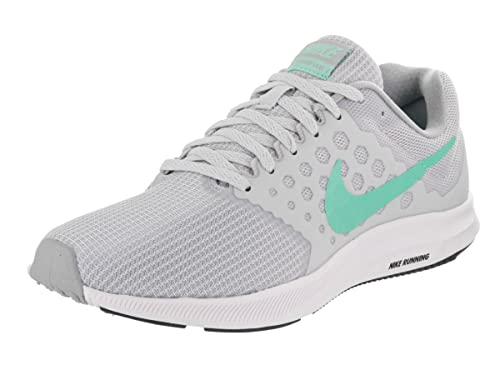 5b338893dad6c Nike Women s Downshifter 7 Pure Platinum Hyper Turq Black Running Shoe 10  Women US  Buy Online at Low Prices in India - Amazon.in