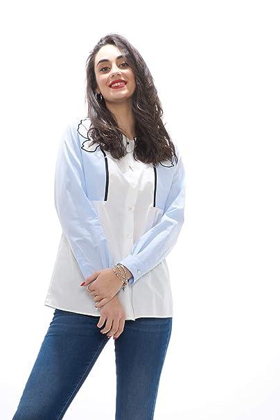 6c0166acad9d Weekend MaxMara ARETUSA Camicia Donna con Ricami  Amazon.it  Abbigliamento