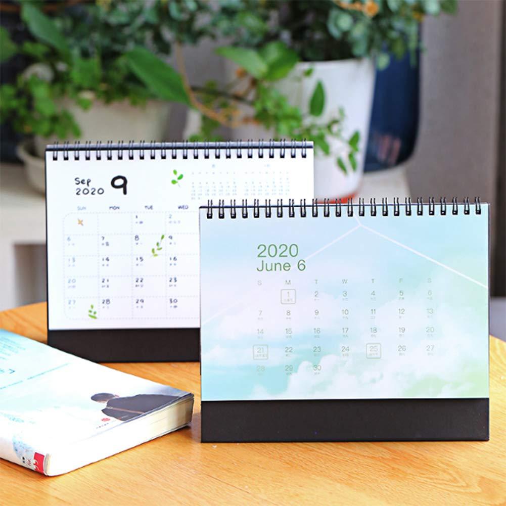 Uic Fall 2020 Calendar.Amazon Com Frjjthchy Desktop Calendar Fashionable Monthly