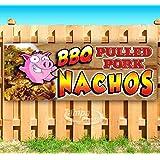 Amazon.com: Letrero de vinilo para barbacoa de cerdo con ...