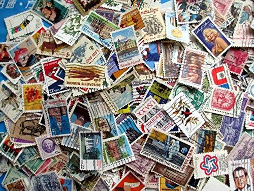 1000 Vintage Used USA Postage Stamps Off-paper Stamp United States Stamp Collecting by Captain Nikkiesavage