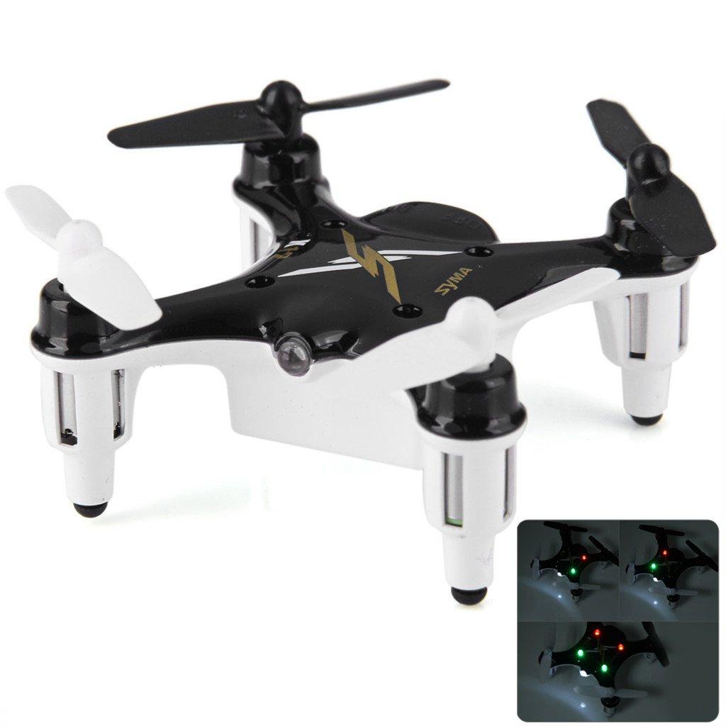 Syma X12 Nano Negro 6-Axis Gyro 4CH RC Mini RTF Quadcopter: Amazon ...
