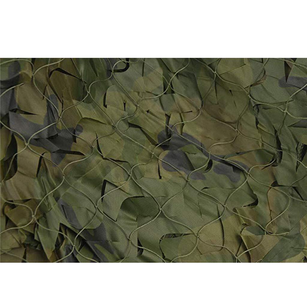 迷彩ネット迷彩ネットウッドランドグリーンアーミーミリタリーネット日焼け止めキャリッジ車工場日よけネットシェードカバー屋外キャンプ射撃狩猟壁の装飾 ZHAOFENGMING (Color : 緑, Size : 10M×20M) 緑 10M×20M