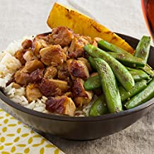 Chicken Teriyaki with Sugar Snap Peas and seared Pineapple by Chef'd (Dinner for 2)