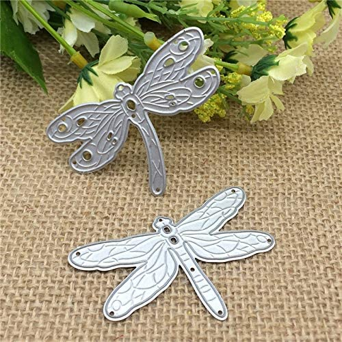 Large Steampunk Dragonfly Die-Cuts Pack Of 6 NEW White