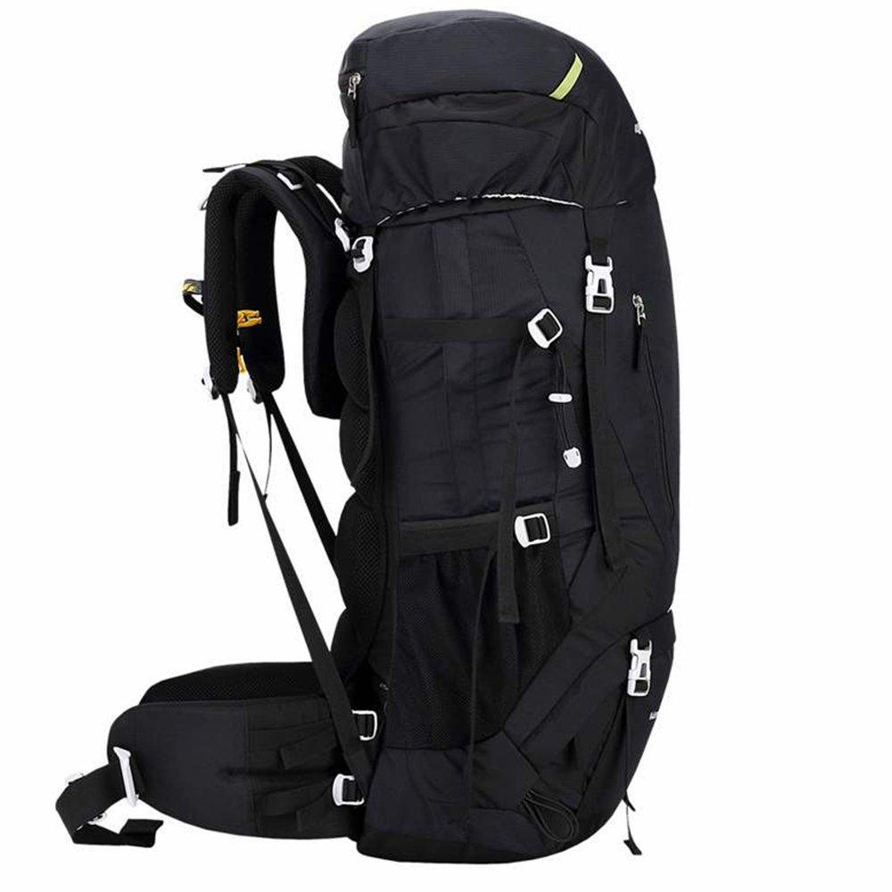 Kimlee 60lハイキングバックパック登山キャンプトレッキング旅行バッグ大容量リュックサック内部フレーム防水アウトドア B0797LSBSV