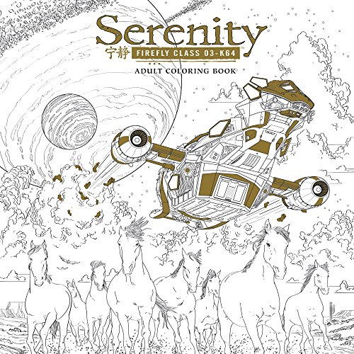 Serenity Adult Coloring Book by Dark Horse Books
