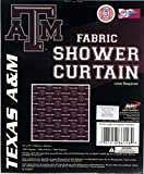 The Northwest Company Texas A&M Aggies NCAA Fabric Shower Curtain (72x72)