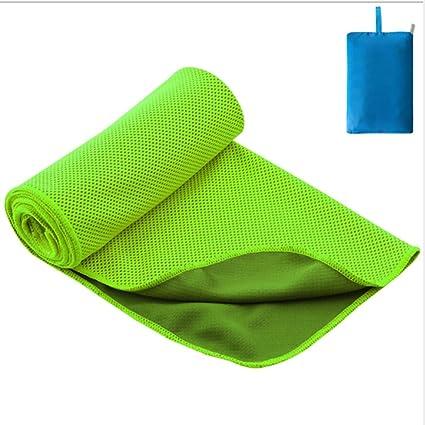 JESSIEKERVIN YY3 Cold Feelong Deportes Toalla Verano Color sólido Yoga al Aire Libre Mantel Microfibra Estera