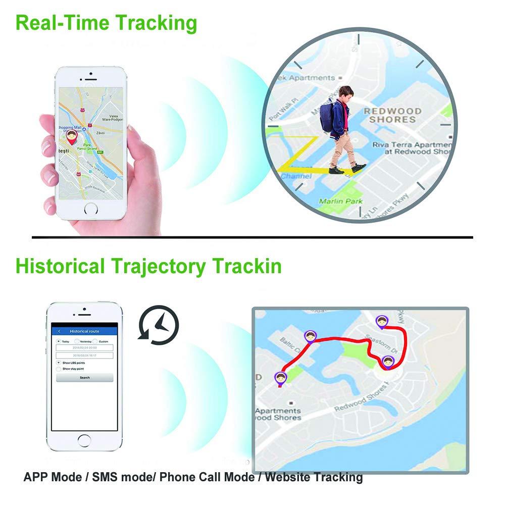 Anti-GPS-Ortungsger/ät f/ür Autos Motorrad Truck Tracker mit kostenloser APP f/ür Smartphone Fahrzeug Tracker Echtzeit GPRS//GSM-/Überwachungssystem GPS Locator Likorlove Auto GPS Tracker