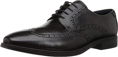 TALLA 43/44 EU. ECCO Melbourne, Zapatos de Cordones Brogue Hombre