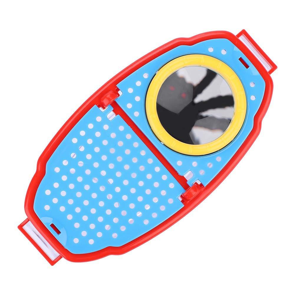 YGQersh Observateur dinsectes dinsecte de loupe Portable 4.5X HD avec des pincettes Jouet dobservation pour Enfants