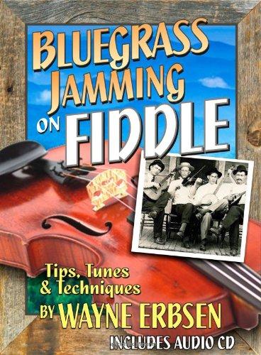 Bluegrass Jamming on Fiddle (Book & CD set) Bluegrass Fiddle Sheet Music