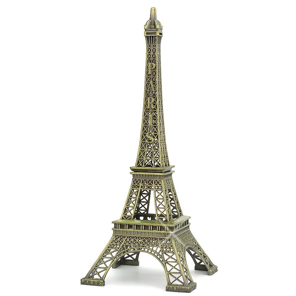 LIFECART Sunei.f Metal Paris Eiffel Tower Model Souvenir Decoration Home Decoration (10cm)