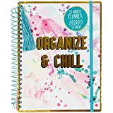 """Office Products : """"Organize and Chill"""" Splatter 18 Month Planner"""