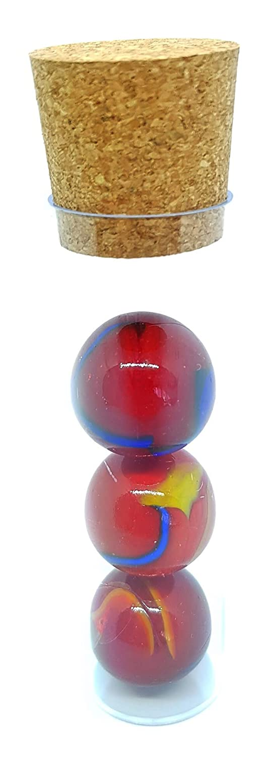 / 25/mm /Panjin Collection Magic of Nature /3/Glass Marbles CALOTS and Co/ /sku-25-fiesta MaR/écr/éation/