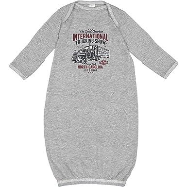 8e42291d38b14 Amazon.com  inktastic - Big Truck Newborn Layette Heather 2cb70  Clothing