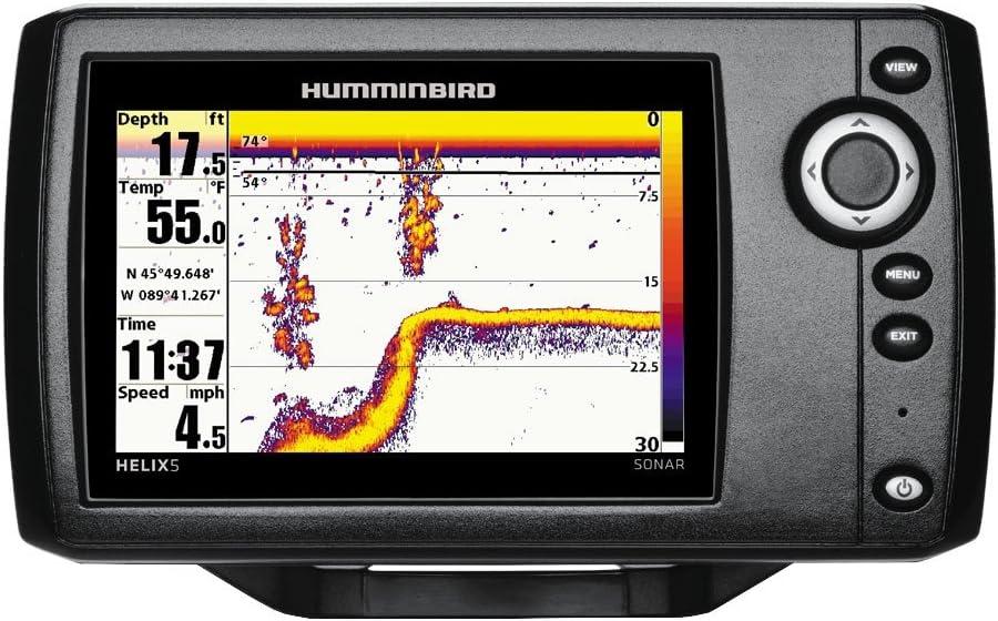 Humminbird Helix 5 Sonar G2 Echolot (83/200 KHz) Portabel Juego de ...