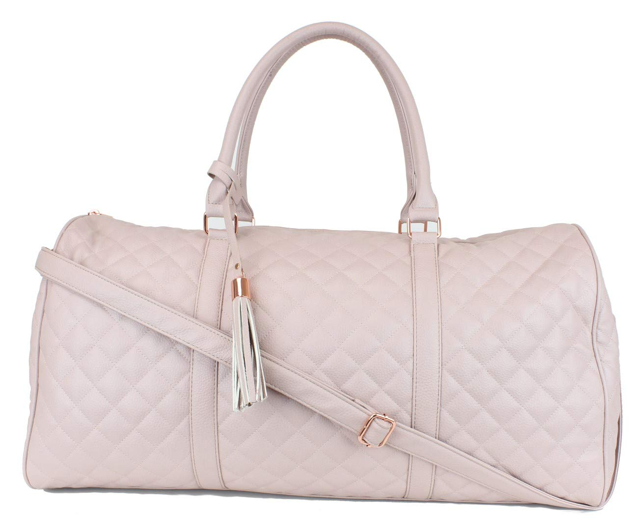 Amazon.com | Women's Quilted Leather Weekender