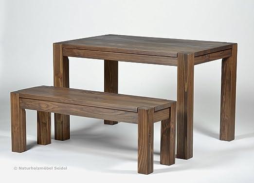 Sitzgruppe Garnitur mit Esstisch ,,Rio Bonito,, 120x80cm + Bank ...