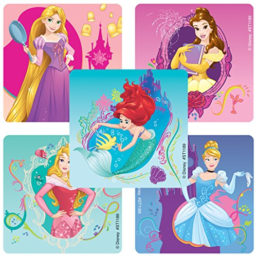 SmileMakers Disney Princess Enchanted Stickers - Prizes 100 Per Pack ()