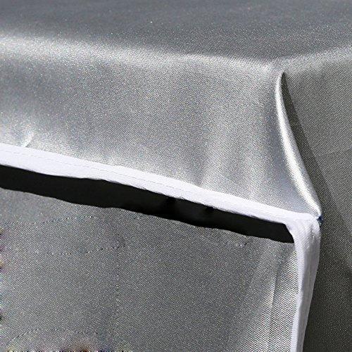 INKDSAT 86 x 32 x 56 cm Winter Anti-Snow Waterproof Dustproof Outdoor Window AC Unit Mini Split System Air Conditioner Cover by INKDSAT (Image #4)