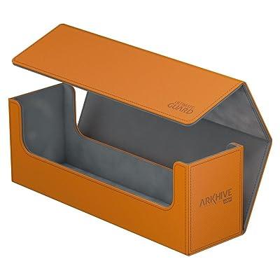 Ultimate Guard Arkhive 400+ XenoSkin Orange: Toys & Games
