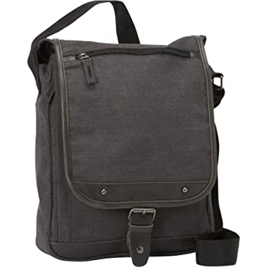 Amazon.com | Bellino Tahoe Sling Messenger, Black | Messenger Bags
