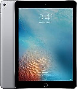 Apple iPad Pro 9.7-inch (128GB, Wi-Fi, Space Gray) 2016 Model - (Renewed)