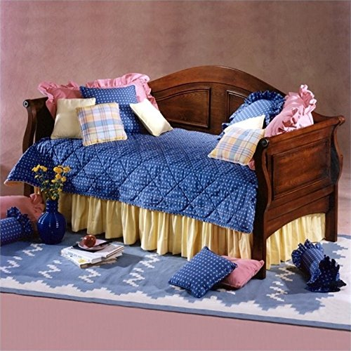 Cherry Trundle Daybed (BOWERY HILL Twin Daybed with Trundle in Cherry)