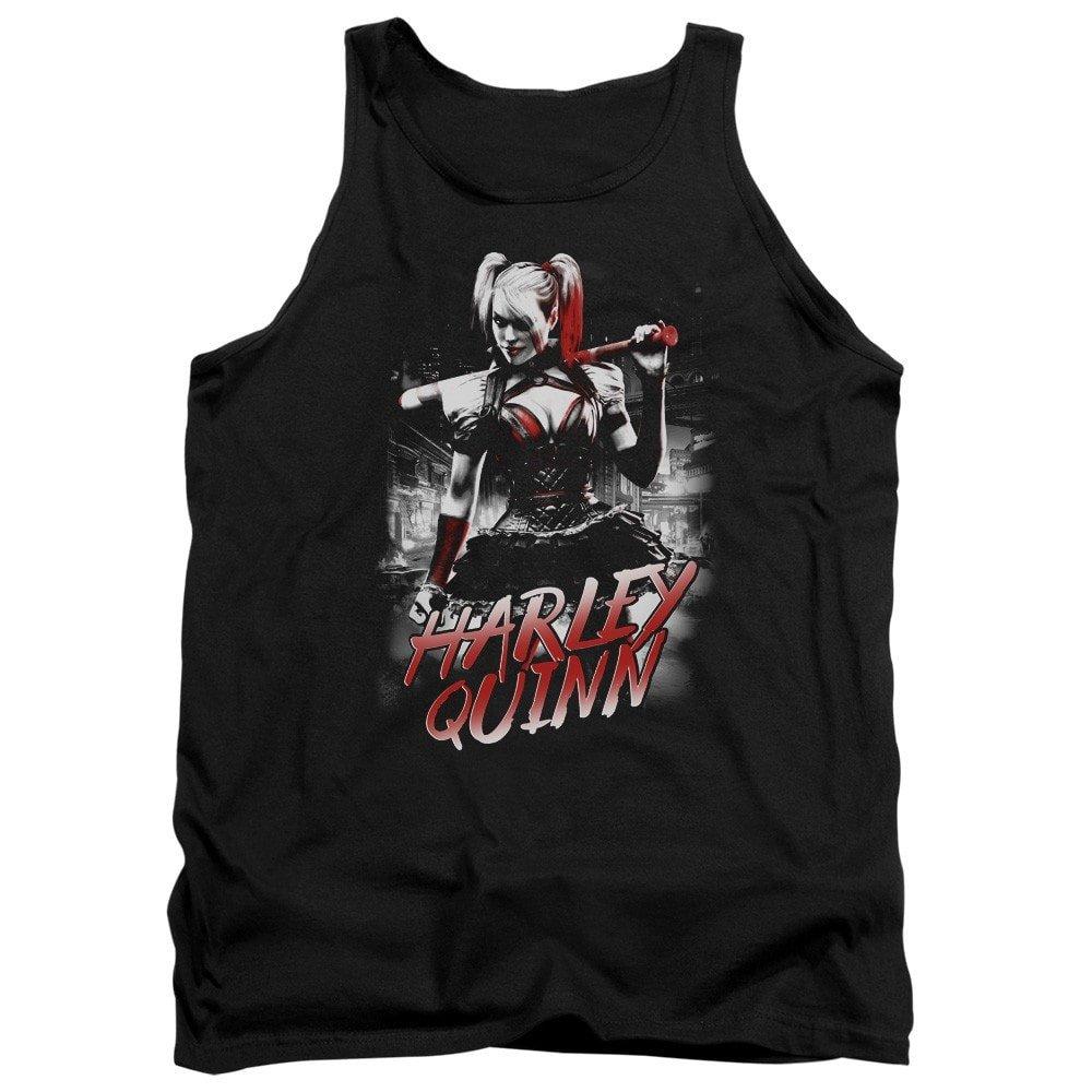 Dc Comics Harley Quinn City Adult Tank Top
