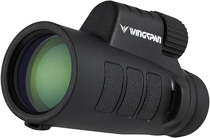 Best monocular : Wingspan Optics Tracker 8X42 Compact Wide View Monocular