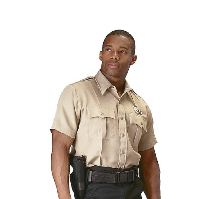 Amazon Rothco Short Sleeve Uniform Shirt Khaki Sports Outdoors