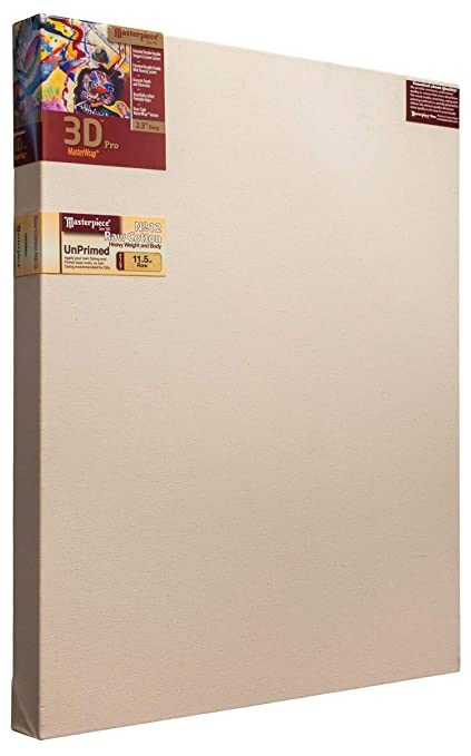 Muir Acrylic Primed Linen/ 12.0oz 4X Masterpiece Artist Canvas 44271 Monet Pro 1-1//2 Deep 36 x 72