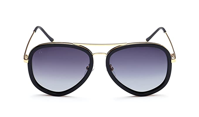 "cde49691277 PRIVÉ REVAUX ""The Supermodel"" Handcrafted Designer Polarized Brow Bar  Sunglasses For Men   Women"
